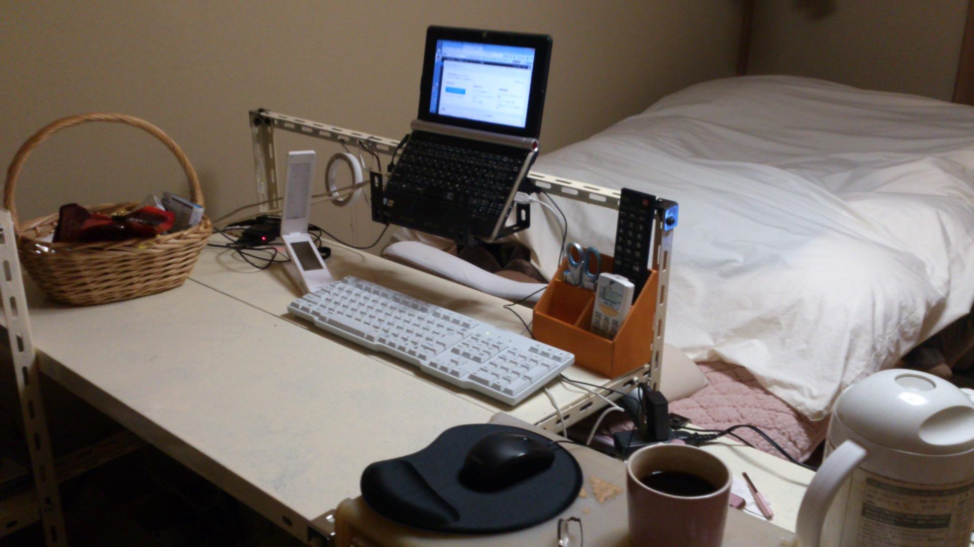 机とパソコンスタンドを自作してみた