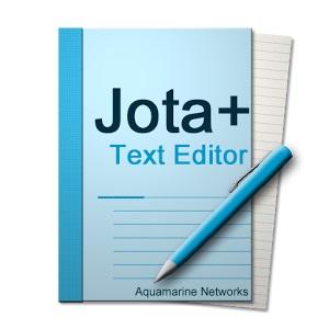 Android無料アプリ テキストエディタ Jota+ アイコン