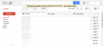 Gmail初期状態